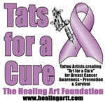 Tats for a Cure Lavender