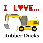 I Love Rubber Ducks