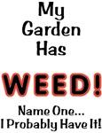 My Garden Has Weed!