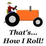 Orange Tractor How I Roll