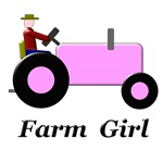 Farm Girl Pink Tractor