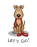 Let's Go! Dog/Puppy (Brown)