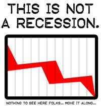 NOT a recession