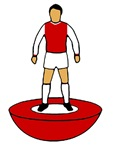 Arsenal Table Footballer