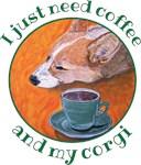 Coffee and Corgi