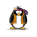 Hippie penguin
