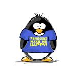 Penguins Make Me Happy Penguin
