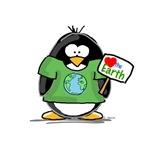 Love Earth Penguin
