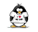 I Love My Job Penguin
