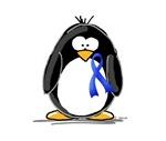 Blue Ribbon Penguin