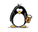 Beer Drinking Penguin