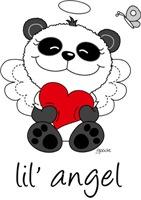 lil' red panda angel
