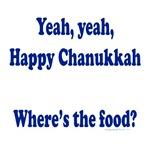 Where's the food, pregnant chanukkah