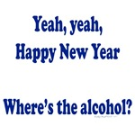 Happy new year alcohol