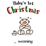 First christmas weaning
