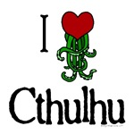 I heart cthulhu with tentacles