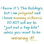 Holiday morning sickness warning