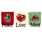 Peace, love, meat