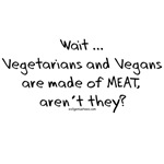 Vegetarian vegan meat funny