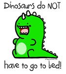 Dinos don't go to bed cute