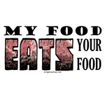 My food eats your food