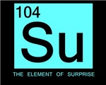 ELEMENT OF SURPRISE SHIRT T SHIRT FUNNY PERIODIC T