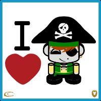 I Heart Happy Pirates 2.0
