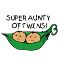 Super Aunty of Twins Pod