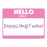 Hello Expecting Twins Pink