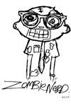 Zombie Nerd. Alternate