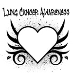 Lung Cancer Awareness Tattoo Shirts & Gifts
