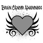Brain Cancer Awareness Tattoo Shirts & Gifts