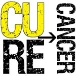 Cure (Sarcoma) Cancer Grunge Gear, Shirts & Gifts