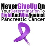 Pancreatic Cancer Never Give Up Shirts & Gifts