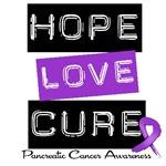 Hope Love Cure Pancreatic Cancer T-Shirts