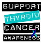 Support Thyroid Cancer Awareness T-Shirts & Gifts