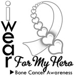Bone Cancer Hero Ribbon Shirts & Gifts