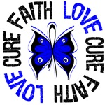 Faith Love Cure Colon Cancer Shirts