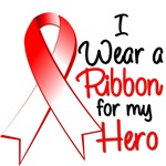 I Wear a Ribbon Hero Oral Cancer Shirts