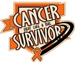 Kidney Cancer Survivor Shirts and Gifts (Orange)
