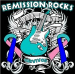 Remission Rocks Thyroid Cancer Shirts