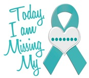 Missing My 1 Cervical Cancer T-Shirts & Gifts