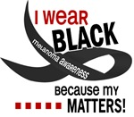 I Wear Black 33 Melanoma Shirts, Gifts, Apparel