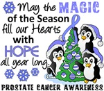 Prostate Cancer Christmas Cards and Gifts