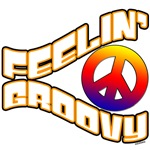 Feelin' Groovy 70's retro t-shirts and gifts