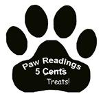 Paw Readings...5 Treats