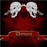 Pentagram with Skull design