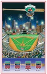 Mud Hens All-Star Commemorative Poster #2