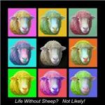 Sheep Pop Art