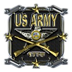 US Army Star Gold